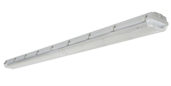 Image 1 Louvers International ADV8-4T5-20 Advantage 8 Ft T5 4 Lamp Vaportight Fixture NSF Approved IP66 Rated