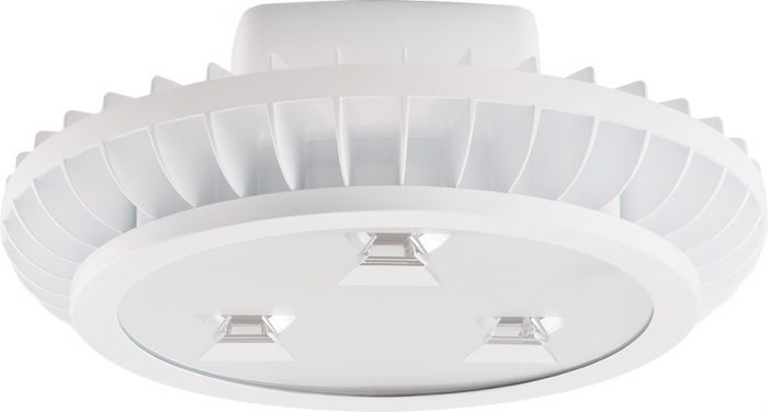 Main Image RAB Lighting AISLED78 78 Watt LED High Bay Aisle Light Fixture with Hook and Cord White Finish (Product Configurator)