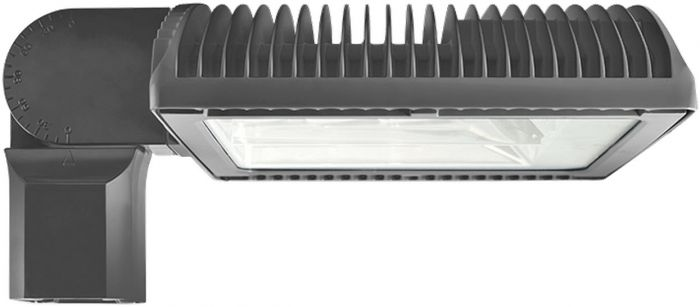 Gray Housing RAB Lighting ALED3T125 125 Watts LED Area Light Fixture Type III Distribution with All Options (Product Configurator)