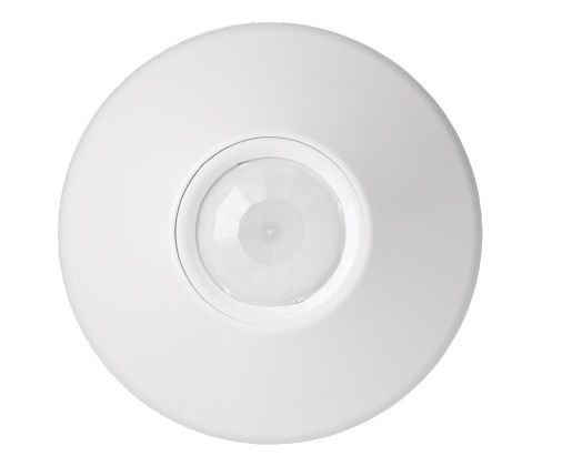 Lithonia Lighting CMR PDT 9 Ceiling Mount Sensor with Passive Dual Technology and Small Motion 360° Coverage