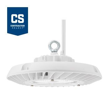 Lithonia Lighting JEBL 12L DLC Premium Listed 92.4 Watt Contractor Select Round LED High Bay Light Fixture Dimmable 120-277V