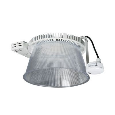 Energetic Lighting E2HBA-E DLC Premium Listed LED Pro-Classical High Bay Fixture 5000K with Emergency Battery Backup