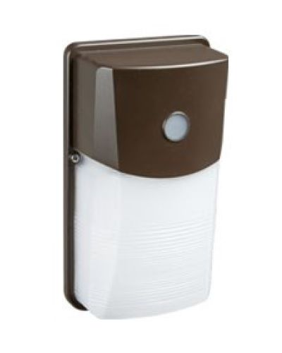 Energetic Lighting E2WPC 20 Watt LED Security Wall Pack Fixture with Dusk-to-Dawn Photocell Sensor 120-277V