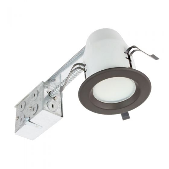 American Lighting E3-RE-30 Energy Star Rated 3-Inch LED Non-Swivel Recessed Downlight Fixture Dimmable 3000K