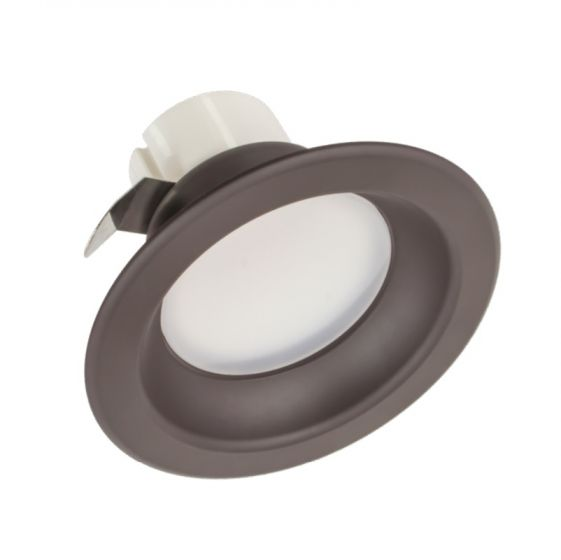 American Lighting E4-27 Energy Star Rated 4-Inch LED Smooth Inset Retrofit Downlight Dimmable 2700K