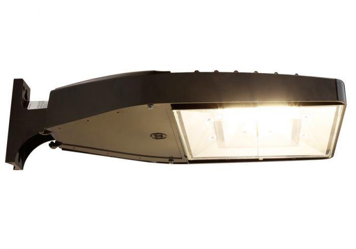 GE Lighting EALS030F3AW740NDD1DKBZ 116 Watt LED Area Light Fixture Type III with Universal Mounting Arm 93096661