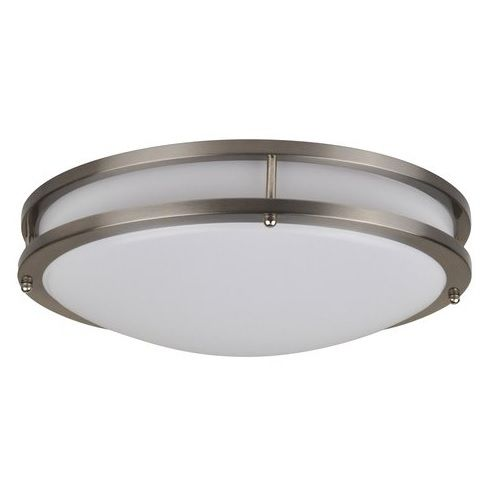 NaturaLED LED16FMM-196L Energy Star Certified 26 Watt LED 16 Inch Flush Mount Modern Dimmable Light Fixture 200W Equivalent