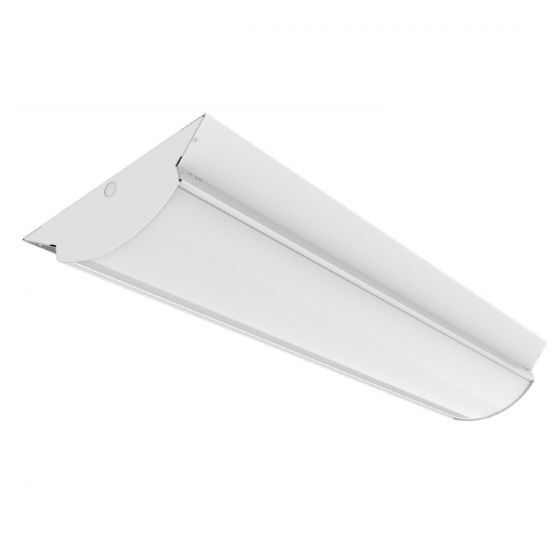 ILP Envirobrite FWW86-T8 6-Lamps 8-ft Wide Housing Wrap Fixture with Pre-Wired Kit (Lamps not Included)