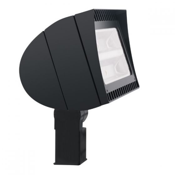 RAB Lighting FXLED150SF 150 Watts LED Floodlight Fixture Slip Fitter Mount with All Options (Product Configurator)