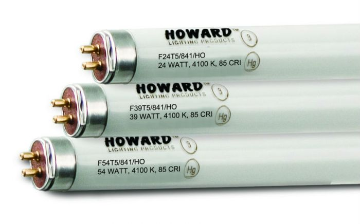 Howard Lighting F54T5/841/HO 54W T5 High Output Linear Fluorescent Lamp 841 4100K