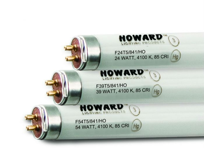 Howard Lighting F54T5/850/HO 54W T5 High Output Linear Fluorescent Lamp 850 5000K