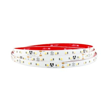 American Lighting HTL65 IP65 Rated 16.4ft Trulux High Output LED Tape Light 24V Dimmable