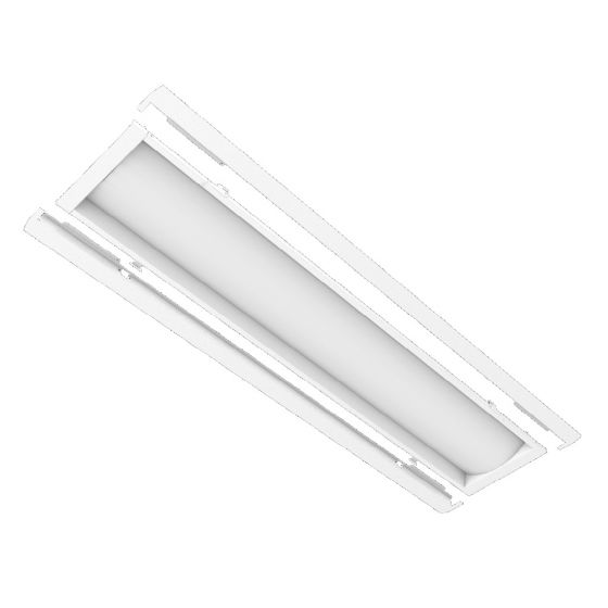 ILP LANCE14-59WLED-UNIV-40 59 Watt LED Latch and Close 1X4 Recessed Troffer Retrofit Kit Dimmable