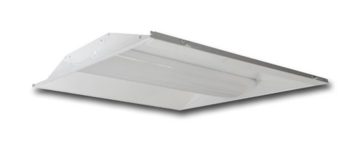 Main Image ILP LANCE24-30WLED-UNIV 30 Watt LED Latch and Close 2X4 Recessed Troffer Retrofit Kit Dimmable 4000K