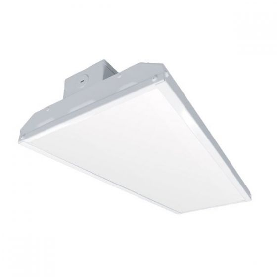 Litetronics LLB075UK2 DLC Premium Listed 75 Watt 2x1 LED Linear Low Bay Dimmable Light Fixture