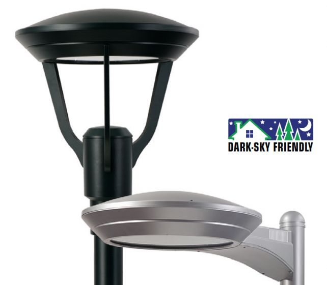 LSI Industries XENM3 LED 63 UE Enterprise Decorative Pedestrian Post Top Walkway Area Light Fixture