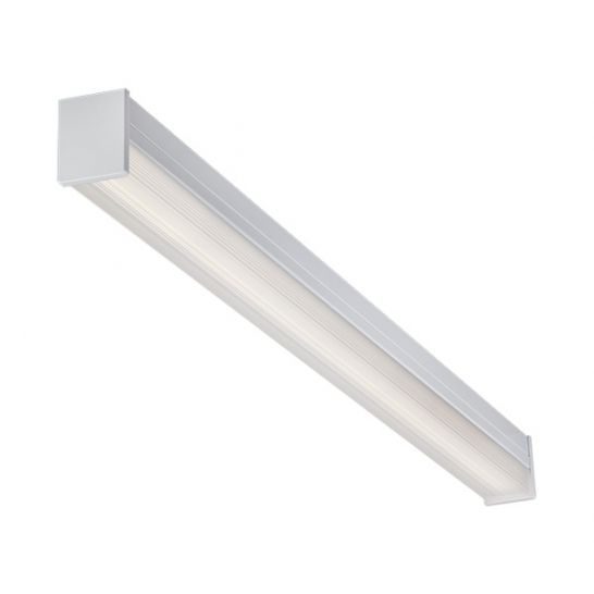 CREE LSQ8C-100L DLC Qualified 72 Watt 8-Ft LED Square Lens Commercial High Efficiency Surface Ambient Dimmable Luminaire