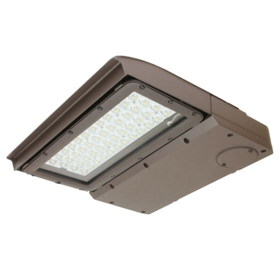 Maxlite MP-AR100UT4-50 100 Watt LED Area Light Fixture T4 120-277V Dimmable 5000K with 10KV Surge Suppressor and NEMA 3-pin Receptacle