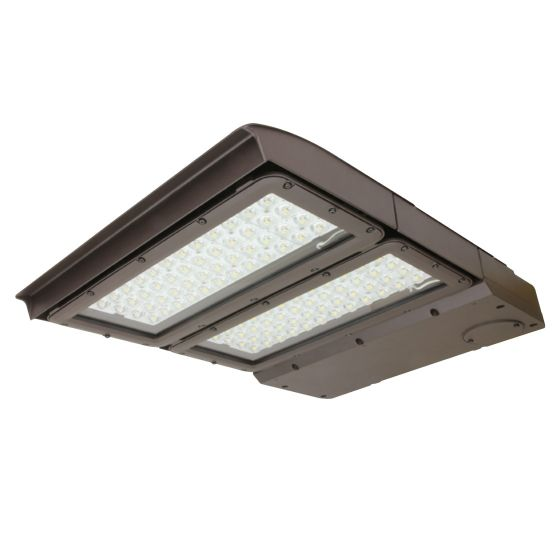 Maxlite MP-AR200UT5-50B MPulse 200 Watt LED Area Light Fixture T5 120-277V Dimmable 5000K 400W Metal Halide Equivalent