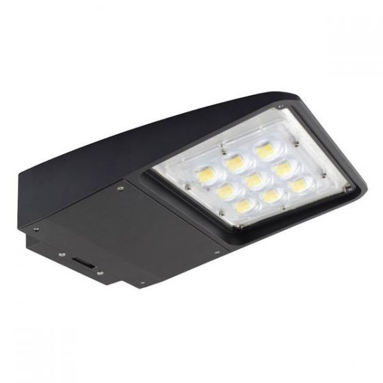 NaturaLED LED-FXSAL50 DLC Qualified 50 Watt LED Slim Area Light Fixture Type 3 Beam Angle 120-277V Replaces 250W HID