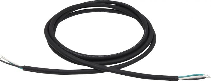 NaturaLED PWC-600V3 Black Portable Power Cable SO Cord for 600V 3 Conductor