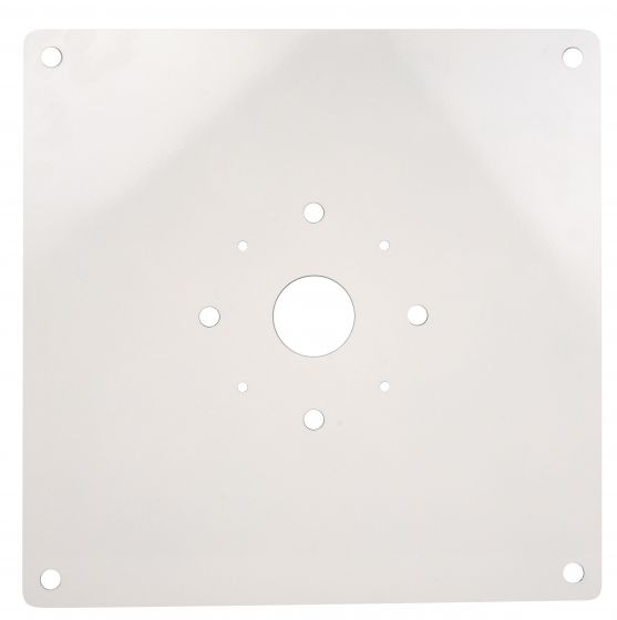 NaturaLED PLT-SCM/14X14/WH 14x14 Beauty Plate Accessory for Canopy Fixtures