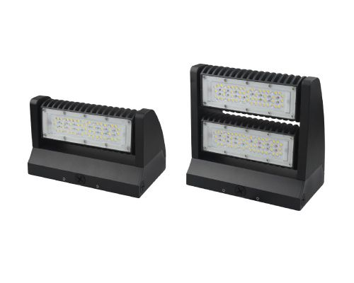 Aleddra AWP-RWP02 DLC Premium Listed LED R-Style Wallpack Fixture 5000K