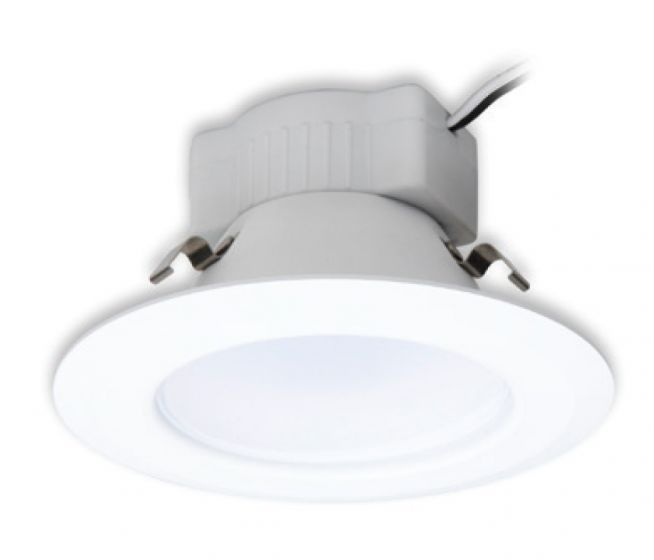 GE Lighting LED10RS4/827E26P 10W 10 Watts 4 Inch Round RS Series Retrofit LED Downlight Dimmable E26 2700K