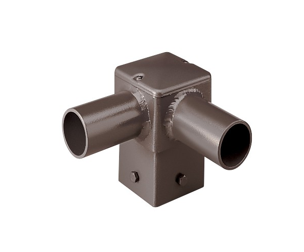 CREE PD-2A4 90 Degree Single PD Tenon Square Pole Horizontal Internal Mount