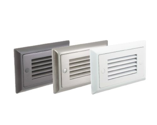 American Lighting SGL-HL Horizontal Louver Faceplate for SGL Step Light