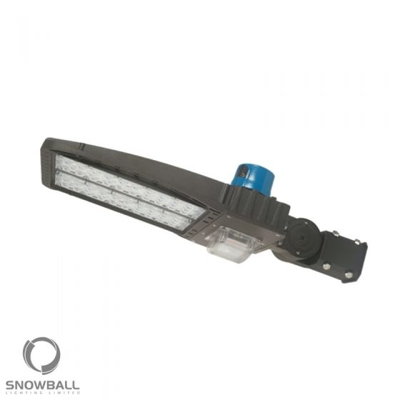 Snowball Lighting SB-T320W DLC Qualified 200 Watt LED Area Parking Light Fixture with Standard Type 3 Light Distribution