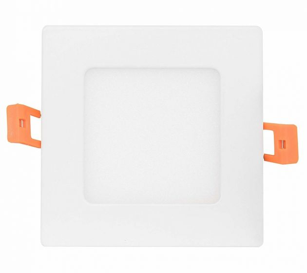 NaturaLED LED6DLS-80L9CCT3 12 Watt 6 Inch LED Slim Square Downlight with Color Selectable Feature
