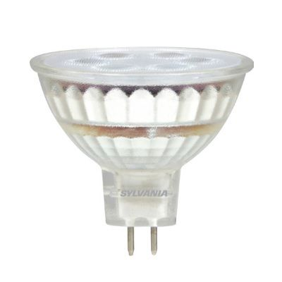Sylvania LED5MR16/DIM Energy Star Rated 5 Watt ULTRA LED MR16 Glass Lamp GU5.3 Base Dimmable Replaces 20W Halogen