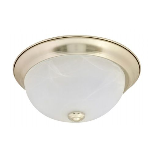 Sylvania 74302 LEDFLUSHDOME11IN20DIM827BN Energy Star Rated 21 Watt LED Traditional Ceiling Dome Round Light Fixture 2700K Dimmable