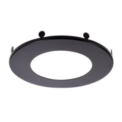 Sylvania MD6TRIMBLK RoHS Certified Trim Ring Accessory for 6-Inch Microdisk