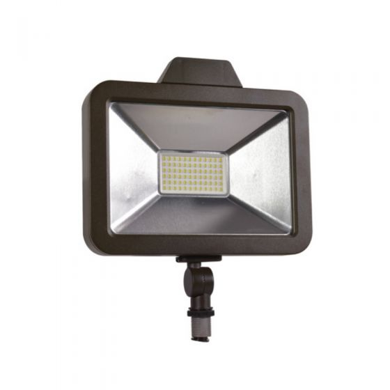 Sylvania SLMFLD1A/020UNV DLC Qualified 20 Watt LED Slim Floodlight Fixture Wide Flood Distribution 70W MH Equivalent