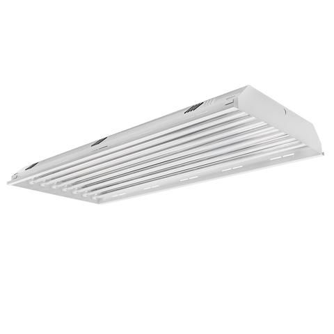 Toggled FH480D0 4FT LED 8-Tube Capacity Direct-Wire High Bay Light Fixture (Tube Lights Excluded)