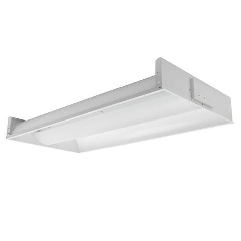 Toggled FT430V0 2x4 LED 3 Tube Capacity Direct-Wire Volumetric Fixture (Lamps Excluded)