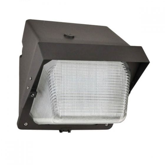 NaturaLED LED-FXTWP28 28 Watt Forward Throw Semi-Cutoff LED Wallpack Fixture Cut Off Visor Included