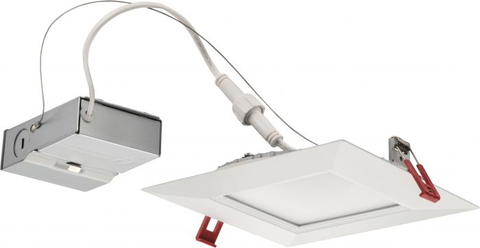 Lithonia Lighting Wf6 Sq B Led 14 Watt Ultra Thin 6 Inch Square Dimmable Recessed Downlight