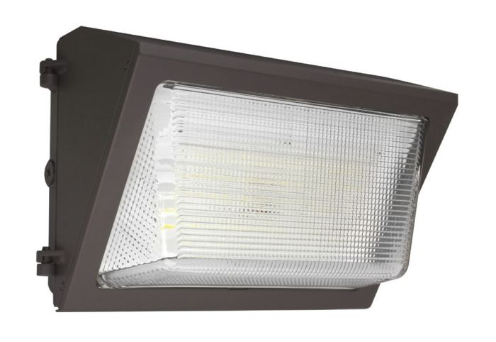 Maxlite WP-OP40U-50BLEM2 DLC Premium 40 Watt LED Open Face Wall Pack Fixture 120-277V Dimmable 5000K with Battery Backup - 175W MH Equivalent