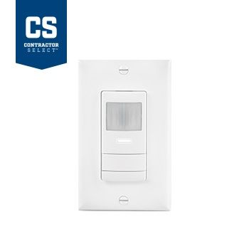 Lithonia Lighting WSX IV Contractor Select Ivory Wall Switch Sensor