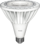 RAB Lighting PAR38-26-930 Energy Star Rated 26 Watt LED PAR38 E26 Lamp 120V 90CRI Dimmable 3000K 75W Equivalent