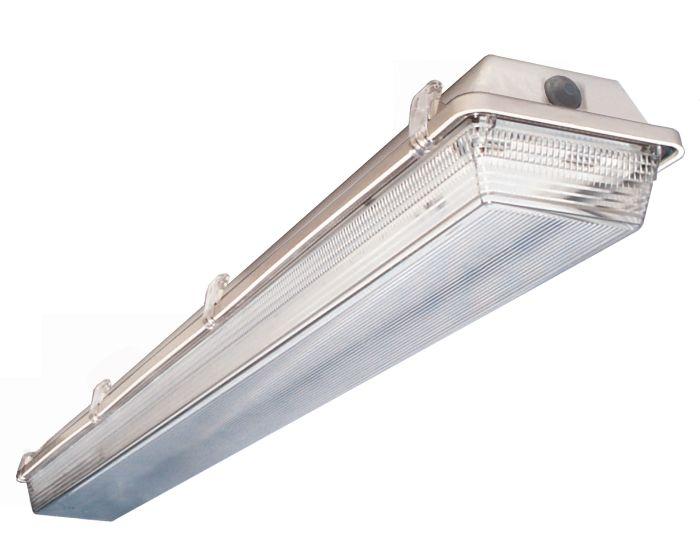 Aei Lighting T8vt 8 232 Uni 2 Lamp 74w 74 Watt Ft Weathermax Weatherproof Vapor T8 Fixture Lamps Included