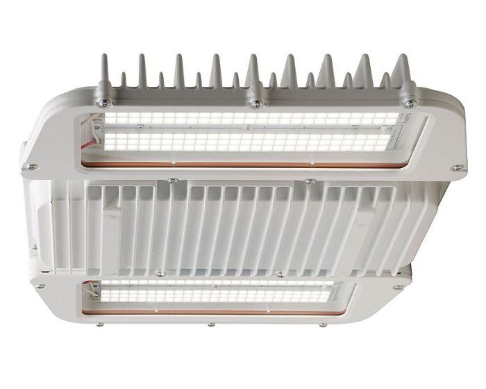 Ge Lighting Ahh1 Series 90 Watt 1 Module High Output Hazardous Location Low Bay Light Fixture 120 277v 5000k
