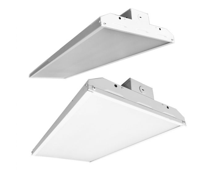 Paclights Flha4d178 Dlc Qualified 178 Watt 4 Foot Led Linear High Bay Lighting Fixture Dimmable 7 Years Warranty