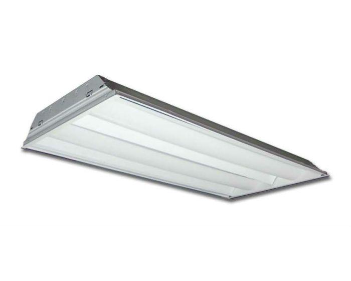 Howard Lighting Ftr14254apsmv0000i Ftr1 Series 54w 54 Watt 2x4 2 X 4 Ft Lamp T5 Direct Indirect Fluorescent Troffer Retrofit Kit