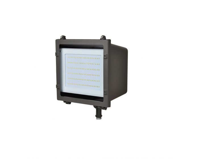 Naturaled Led Fxfdl58 Dlc Qualified 58 Watt Led Flood Light Fixture 120 277v 250w Hid Equivalent Photocell Compatible