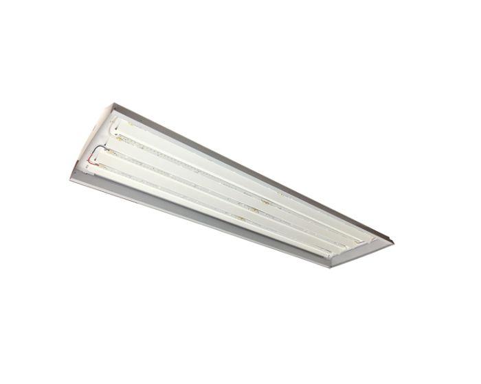 Howard Lighting Hla2he0850xmv 146 Watt Led Flat 4 Foot Linear Highbay Fixture 120 277v Dimmable 5000k
