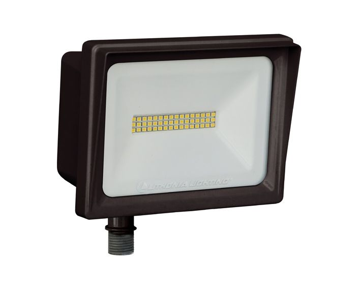 Lithonia Lighting Qte Led P3 Dlc Listed 66 Watt Contractor Select Floodlight Light Fixture 120v Replaces 250w Metal Halide Or 500w Halogen